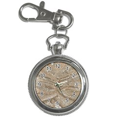 Tri-Colored Bling Design Key Chain & Watch