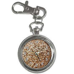 Light and Dark Sequin Design Key Chain & Watch