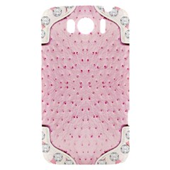 Hot Pink Western Tooled Leather Look HTC Sensation XL Hardshell Case