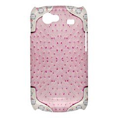 Hot Pink Western Tooled Leather Look Samsung Galaxy Nexus S i9020 Hardshell Case