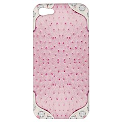 Hot Pink Western Tooled Leather Look Apple iPhone 5 Hardshell Case