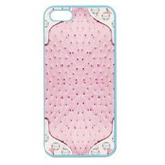 Hot Pink Western Tooled Leather Look Apple Seamless iPhone 5 Case (Color)