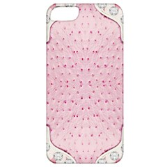 Hot Pink Western Tooled Leather Look Apple Iphone 5 Classic Hardshell Case