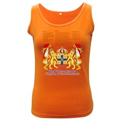 King Willem Dark Colored Womens'' Tank Top