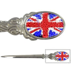 Distressed British Flag Bling Paper Knife