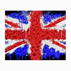 Distressed British Flag Bling Twin Sided Glasses Cleaning Cloth