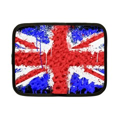 Distressed British Flag Bling 7  Netbook Case