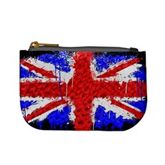 Distressed British Flag Bling Coin Change Purse