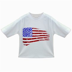 Sparkling American Flag Baby T-shirt