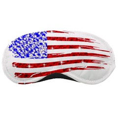 Sparkling American Flag Sleep Eye Mask