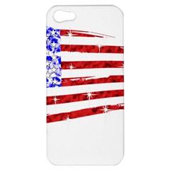 Sparkling American Flag Apple iPhone 5 Hardshell Case