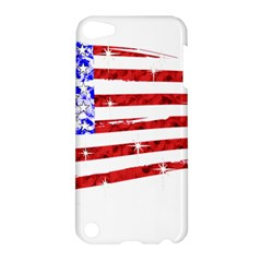 Sparkling American Flag Apple Ipod Touch 5 Hardshell Case