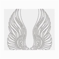 Angel Bling Wings Twin Sided Glasses Cleaning Cloth