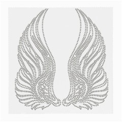 Angel Bling Wings Single-sided Large Glasses Cleaning Cloth