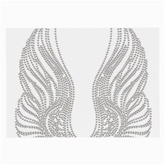 Angel Bling Wings Twin Sided Handkerchief