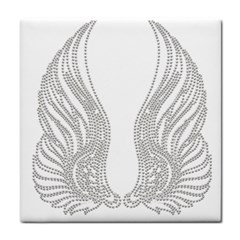 Angel Bling Wings Face Towel