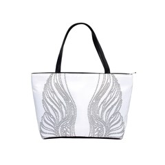 Angel Bling Wings Large Shoulder Bag