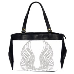 Angel Bling Wings Twin Sided Oversized Handbag