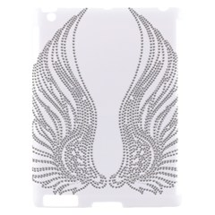 Angel Bling Wings Apple iPad 2 Hardshell Case (Compatible with Smart Cover)