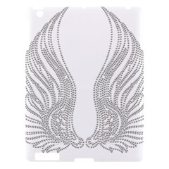 Angel Bling Wings Apple Ipad 3/4 Hardshell Case