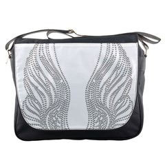 Angel Bling Wings Messenger Bag