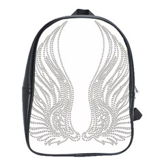Angel Bling Wings School Bag (xl)