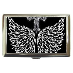 Bling Wings And Cross Cigarette Box