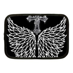 Bling Wings and Cross 10  Netbook Case