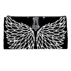 Bling Wings and Cross Pencil Case