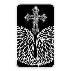 Bling Wings And Cross Card Reader (rectangle)