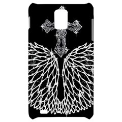 Bling Wings and Cross Samsung Infuse 4G Hardshell Case
