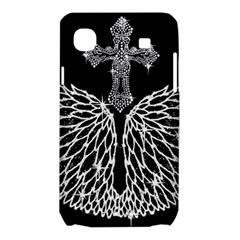 Bling Wings and Cross Samsung Galaxy SL i9003 Hardshell Case