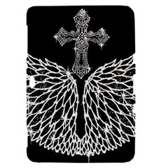 Bling Wings and Cross Samsung Galaxy Tab 8.9  P7300 Hardshell Case