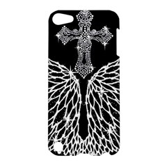 Bling Wings and Cross Apple iPod Touch 5 Hardshell Case