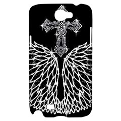 Bling Wings and Cross Samsung Galaxy Note 2 Hardshell Case
