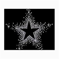 Sparkling Bling Star Cluster Glasses Cleaning Cloth