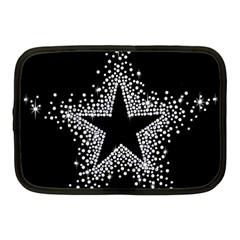 Sparkling Bling Star Cluster 10  Netbook Case