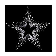 Sparkling Bling Star Cluster Face Towel