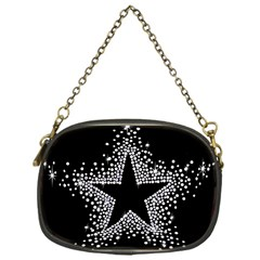 Sparkling Bling Star Cluster Single-sided Evening Purse