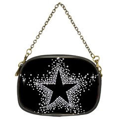 Sparkling Bling Star Cluster Twin-sided Evening Purse