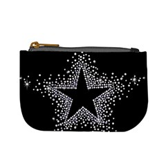 Sparkling Bling Star Cluster Coin Change Purse