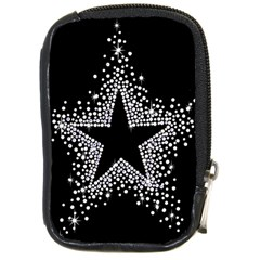 Sparkling Bling Star Cluster Digital Camera Case