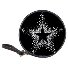 Sparkling Bling Star Cluster CD Wallet