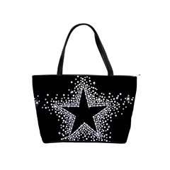Sparkling Bling Star Cluster Large Shoulder Bag