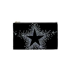 Sparkling Bling Star Cluster Small Makeup Purse