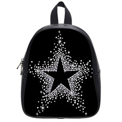 Sparkling Bling Star Cluster Small School Backpack