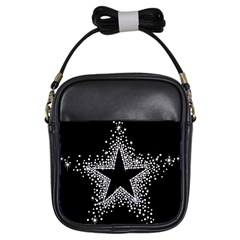 Sparkling Bling Star Cluster Kids  Sling Bag