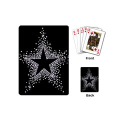 Sparkling Bling Star Cluster Playing Cards (mini)