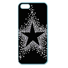 Sparkling Bling Star Cluster Apple Seamless Iphone 5 Case (color)