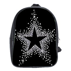 Sparkling Bling Star Cluster School Bag (XL)